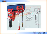 China Low Headroom Heavy Duty Motorized Stage Hoist High Wearable And Anti Corrosive factory