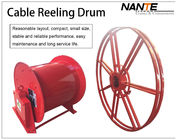 China Crane Components Cable Reeling Drum Flat Electrical Cable 380v/440v Voltage factory